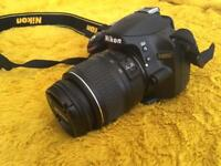 Nikon D3200 DSLR w/ Lens and Extras, in Box GREAT CONDITION