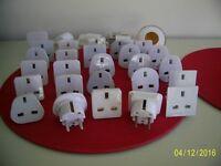 UK-European electric plug adapters