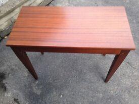 Wooden keyboard stool