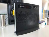 Huawei B593 LTE/4G Unlocked UK Plug Wireless Router- Black-(150 mbps)
