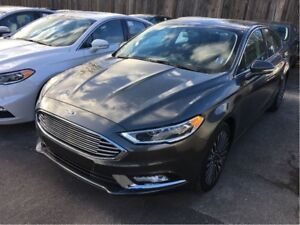 2017 Ford Fusion NAV, ROOF, AWD, 1.9% FINANCING AVAIL!