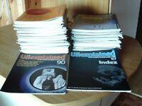 unexplained magazines,full set (157)