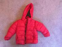 Zara kids red kids coat