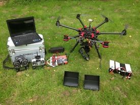 DJI S900 Aerial Filming platform * FULL TWO MAN RIG, LOTS OF EXTRAS*