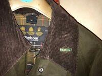 Bourbour Men's Classic Beaufort Wax Jacket