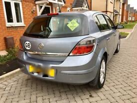 Silver Vauxhall Astra 1.7 turbo diesel
