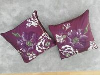 Chenille Pencil Pleat Curtains & Matching Cushions