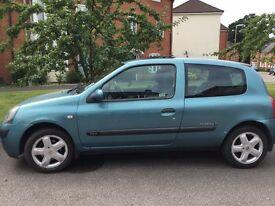 Renault Clio - spares or repairs - MOT til 29.8.17
