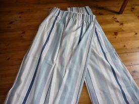 Laura Ashley Awning Stripe Lined Curtains