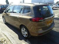 Vauxhall Zafira Tourer EXCLUSIV (brown) 2015-01-24