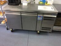Gram Bench Fridge Stainless Steel Catering Equipment, Bakery/Sandwich Shop