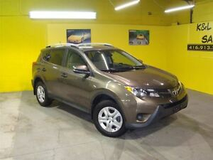 2013 Toyota RAV4 LE ~ AWD ~ BACK-UP CAMERA ~ ALLOY WHEELS ~