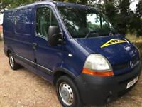Renault master 2.5 dci swb 54 plate