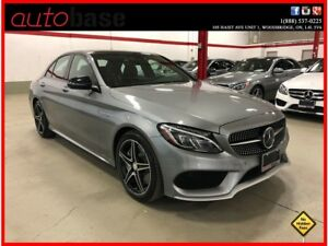 2016 Mercedes-Benz C-Class C450 AMG 4MATIC PREMIUM INTELLIGENT D