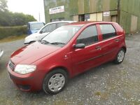 2004 FIAT PUNTO 5 DOOR MOTD FEB 2017 VERY CLEAN EXCELLENT DRIVER LOW RUNNING COSTS PRICED TO CLEAR