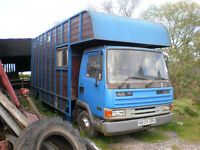 Leyland Daf 45/130 with container