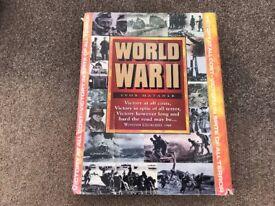 World War 2 History Books Hardback Large