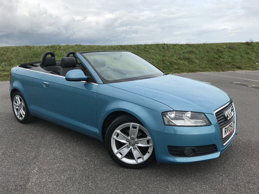 STUNNING LOW MILEAGE AUDI A3 CONVERTIBLE 1.9 TDI SPORT FULL LEATHER AND FULL SERVICE HISTORY!