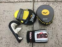 Children's / Kid's Boxing / Martial Arts Punching Pads and Gloves