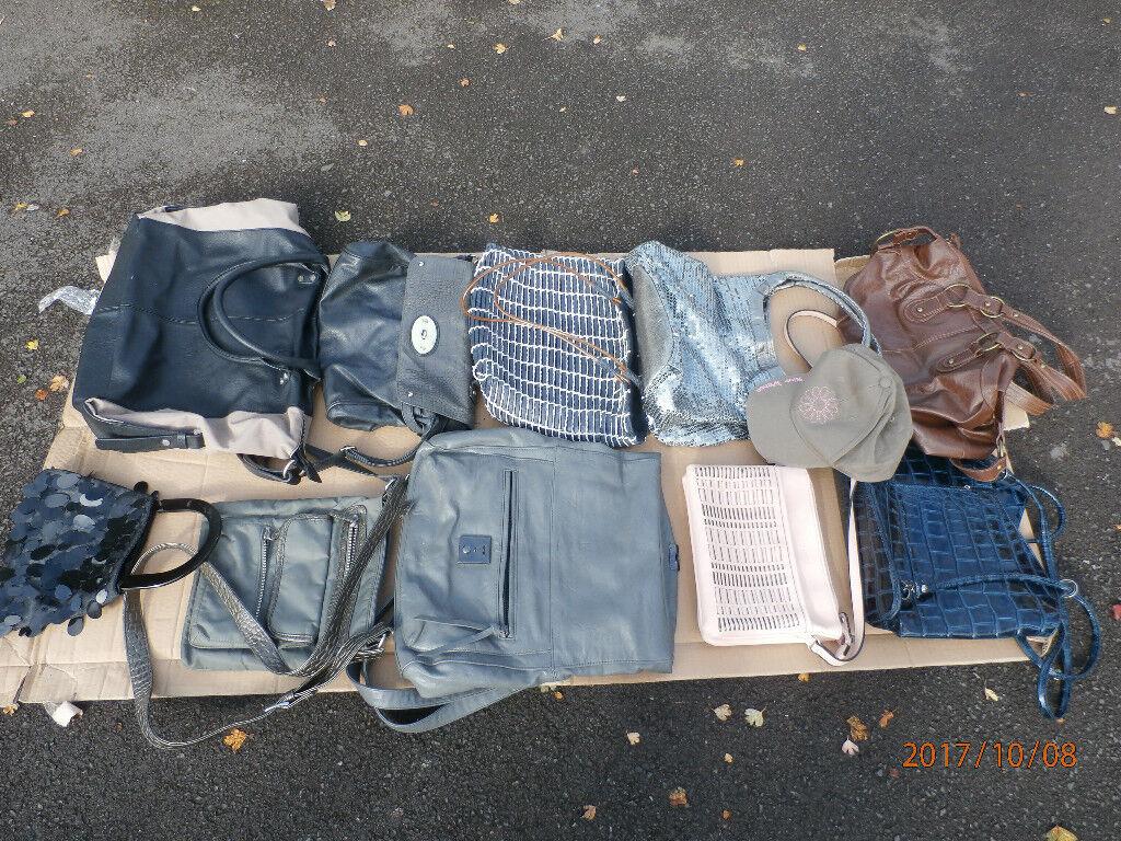 Assorted Lot of Stylish Ladies Handbags