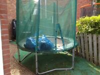 Trampoline , 8 foot , great condition