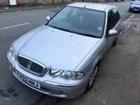 2003 rover45 1600 petrol manual,new mot,low milage 47k
