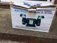 Bench grinder, little used