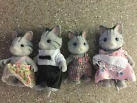 Sylvanian Cat Family