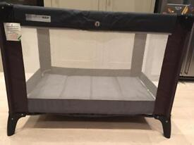 Mamas and papas travel cot and mattress