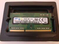 Samsung 4GB DDR3 PC3L-12800S SODIMM for laptops (single stick)