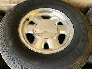 265/70/16 Hercules Terra Trac Tires+Rims 75%