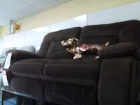 Brandnew suede lazy boy recliner sofa