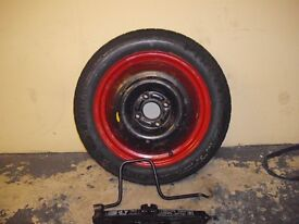 Ford Fiesta Spare Wheel Tyre Jack and Handle