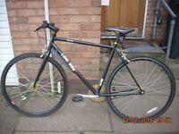 gents coyote tra-fix fixie bike (2014 model £80 no offers)