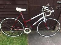 Vintage Raleigh ladies road racing touring city town bike