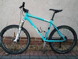 Kenisis maxlight xc 130 adult men 19inch Mountain bike 26 inch wheels