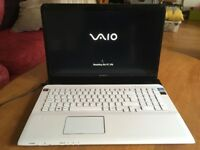 Sony Vaio 17 inch white laptop, excellent working order