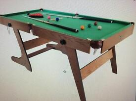 Snooker & Pool Table