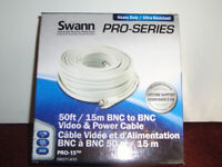 BRAND NEW BOXED SWANN PRO SERIES CCTV CABLE