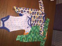 Boys baby grow bundle of 3 NB