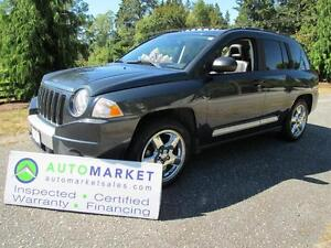 2007 Jeep Compass Limited, 4x4, Insp, Warr