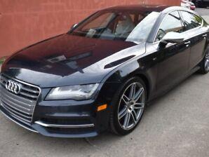 2013 Audi S7 S7 GPS CAMERA BLEUTOOTH MEDIA TOIT OUVRANT  VIDION