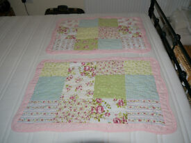 Lovely patch-work quilt style Double Bedspread & Pillow Cases from Avenue range