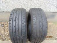 2 tires 195/55 R15