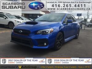 2018 Subaru WRX Sport-tech w/RS, FROM 1.9% FINANCING AVAILABLE