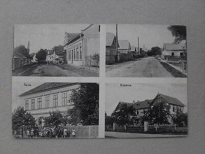 Lipnik Vlkava gel. 1913 Schule Kaserne škola kasárna Dorfstraße Straße