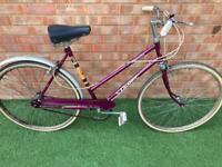 Ladies vintage city bike