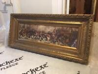 Amazing large Napoleon print and frame