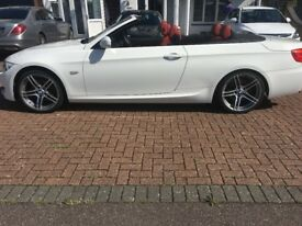BMW 3 Series 2.0 320d M Sport 2dr Convertible - Full BMW Service History (Red Leather)