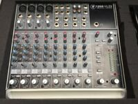 Mackie 1202 VLZ3 Mixer, EQ, FX, sends, 12 channel, Plus with Flightcase